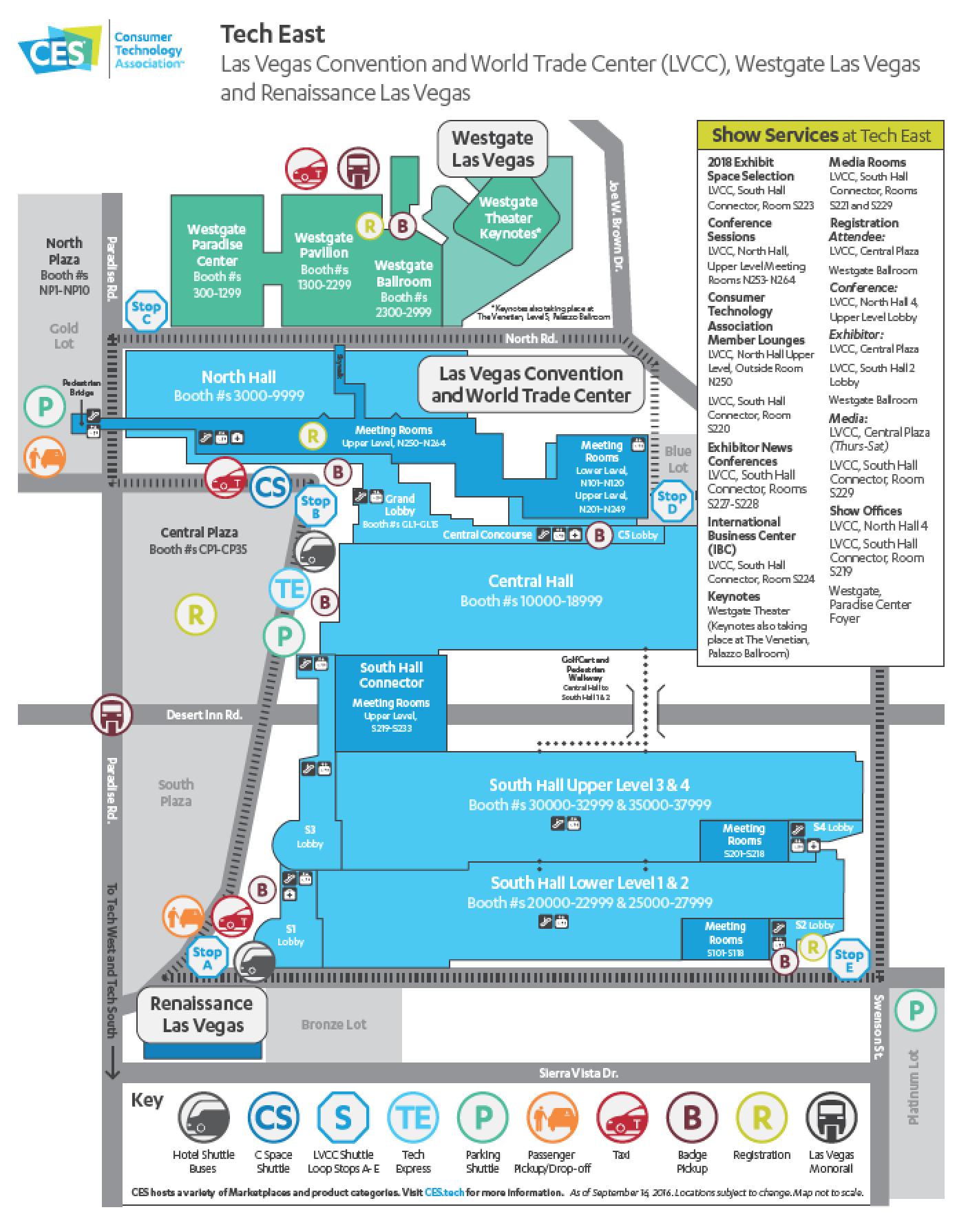 Las Vegas Tech East CES2017